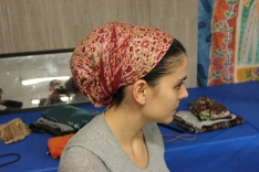 hair wrapping workshop israeli tichel