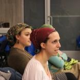 hair wrapping workshop basic bun scarf