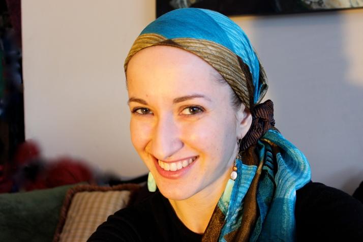 wrapunzel colour scrunchie silk scarf