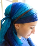 easy long wrap silk wrapunzel