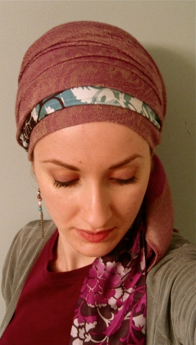 lilac wrapunzel scarf tichel andrea grinberg