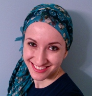 wrapunzel andrea grinberg tichel navy turquoise wrapunzel