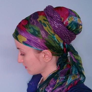 high bun scarf wrap tichel wrapunzel andrea grinberg