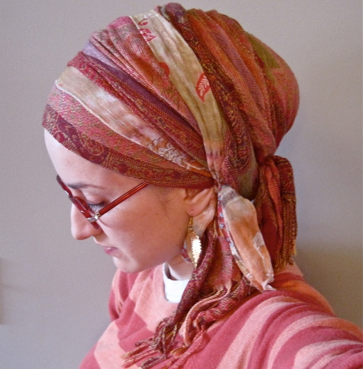 wrapunzel sunset andrea grinberg scarf