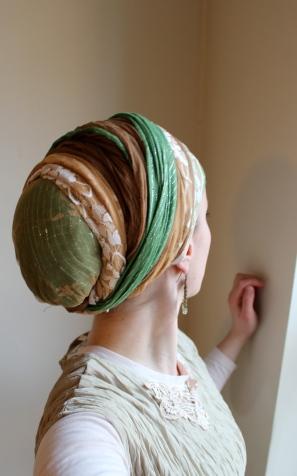 wrapunzel andrea grinberg layers lace tichel