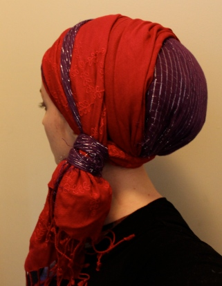 wrapunzel andrea grinberg red purple