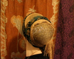 wrapunzel gold green tichel