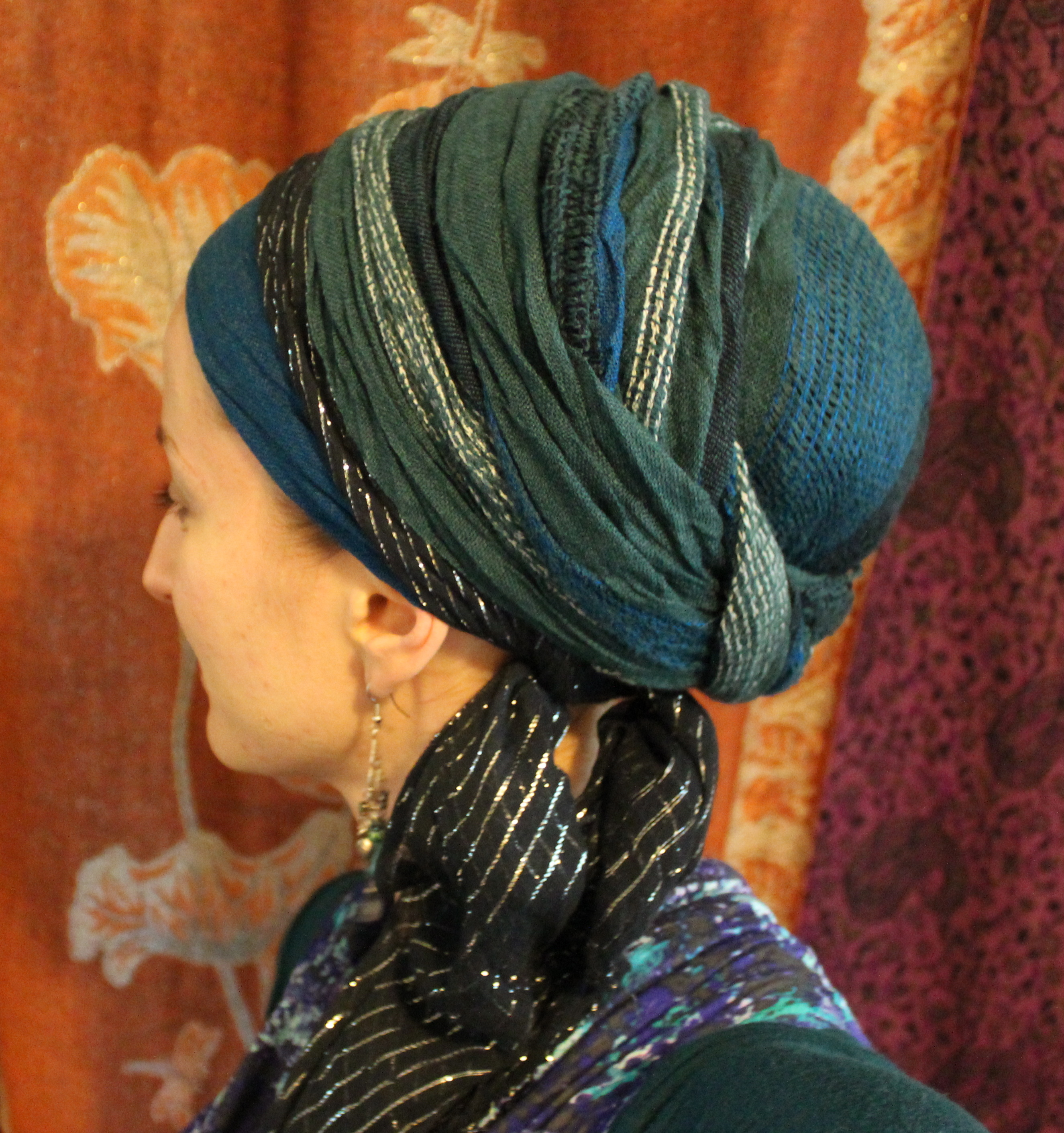 the israeli scarf accent wrapunzel the