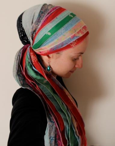 andrea grinberg wrapunzel sari scarf