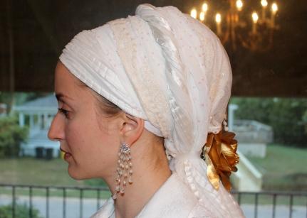 andrea grinberg wrapunzel white yom kippur