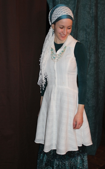 andrea grinberg white lace wrapunzel