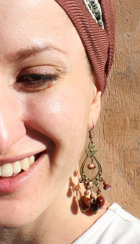 And yes, Israeli earrings are backkkk!!  Love these!