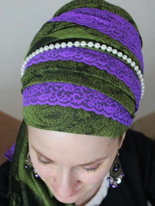 Green Purple Wrapunzel Andrea Grinberg
