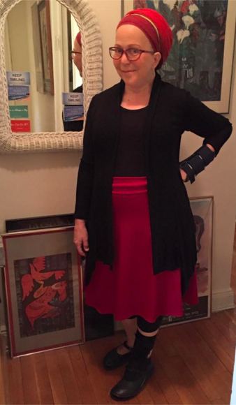 Miri ready to teach public speaking!