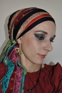 Medieval red + sari (2)