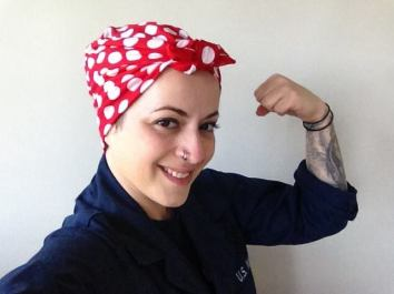Rosie the Riveter!