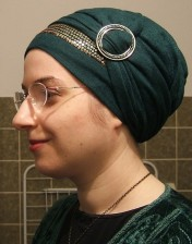 Green Gold Turban