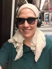 On the metro!